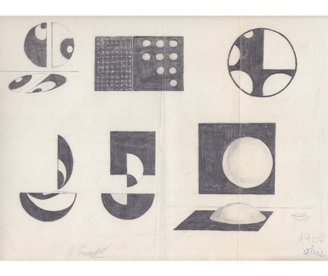 Noemi Escandell, 'Boceto para Relieves', 1966, Herlitzka + Faria