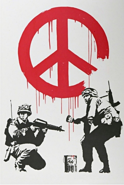 Banksy, 'CND Soldiers', 2005, Alpha 137 Gallery