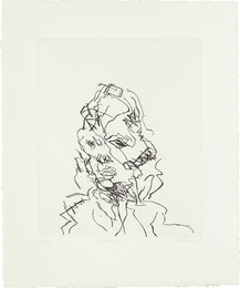 Frank Auerbach, 'Catherine, from Seven Portraits,' 1989-1990, Phillips: Evening and Day Editions