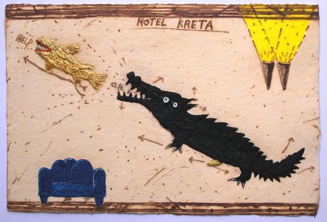 , 'LA CHASSE AU POISSON,' , Galerie Vivendi