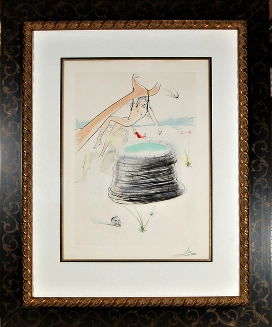 "Salvador Dalí, '""Joseph"" from the suite ""Our Historical Heritage""', 1975, Joseph Grossman Fine Art Gallery"