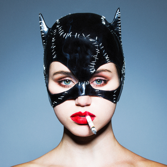 """Tyler Shields, 'Catwoman, 2018 (18"""" x 18"""")', 2018, Provocateur Gallery"""