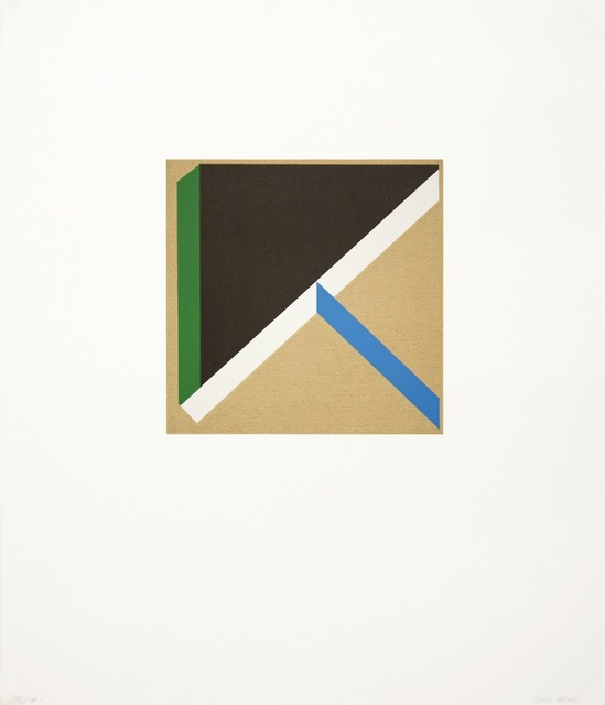 , 'Too Much Green III,' 2012, Tamarind Institute