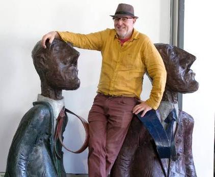 Graeme Hitchcock, 'Flying Ties', 2015, Sculpture, Bronze, Black Door Gallery