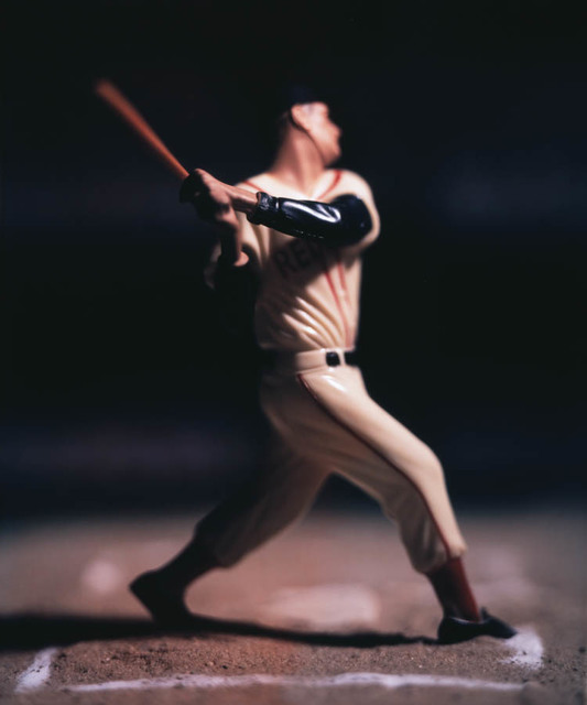 , 'Baseball 03_PC-BB_23 (T. Williams),' 2009, Julie Nester Gallery