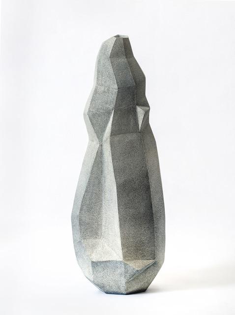 Turi Heisselberg Pedersen, 'Faceted Shape', 2019, Sculpture, Grès émaillé et engobe, Mouvements Modernes