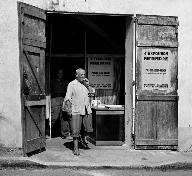 , 'Picasso leaving exhibition in Vallauris,' 1953, Suite 59 Gallery