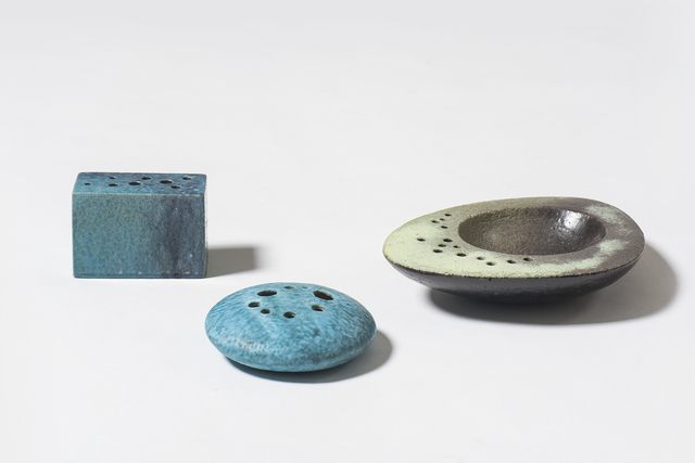 ", '""Sassi"" - ceramic objects,' ca. 1959, Casati Gallery"