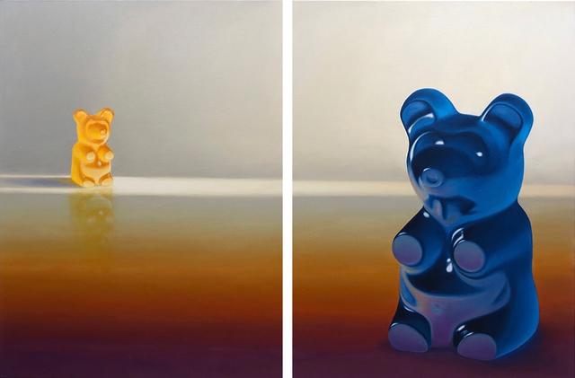 , 'Gazing Diptych,' 2019, Gallery Poulsen
