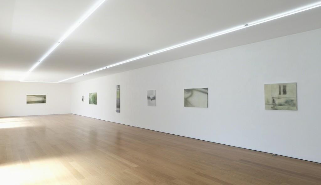 Installation view Jānis Avotiņš at Galerie Rüdiger Schöttle, 2016. Photo: Wilfried Petzi.