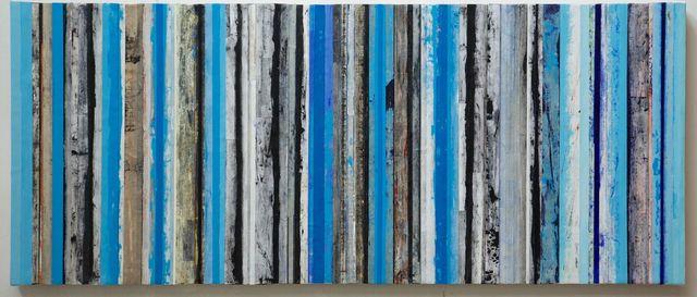 , 'Strata, Blue & Black,' 2017, Garvey   Simon