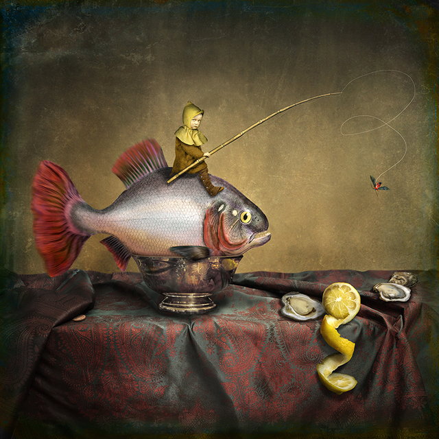, 'First, the fish must be caught,' 2017, photo-eye Gallery