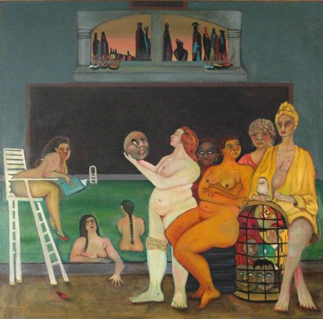 , 'bathers (the kiss),' ca. 2006, Tabla Rasa Gallery