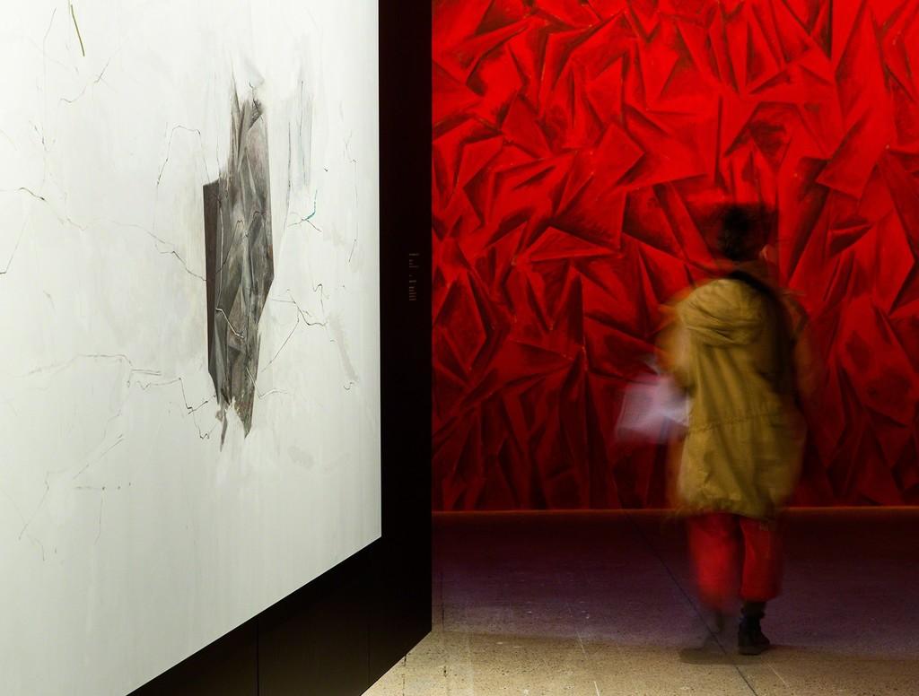 """View of the exhibition """"The Inhabitants,"""" Fondation Cartier pour l'art contemporain, Paris. Photo © Olivier Ouadah"""