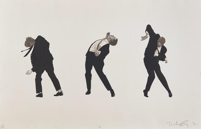 Robert Longo, 'Men in the Cities', 1990, DTR Modern Galleries