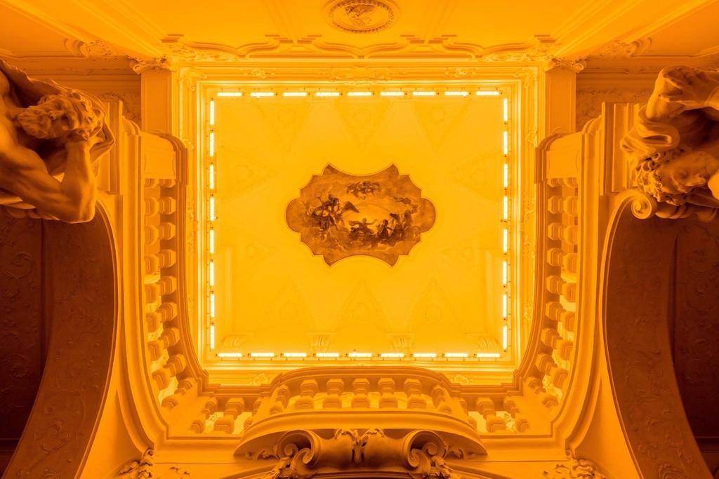 """Olafur Eliasson: BAROQUE BAROQUE"" at Belvedere Museum, Winter Palace of Prince Eugene of Savoy, Vienna, 2015 - 2016. Photo: Anders Sune Berg © 1996 Olafur Eliasson"