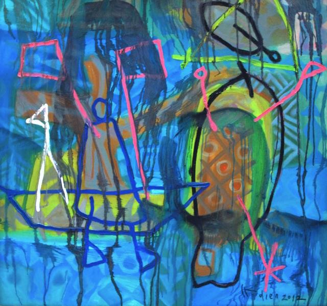 , 'Alluvial III  冲积 三,' 2010, Galerie Dumonteil
