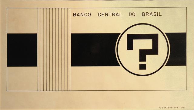 Almandrade, 'Sem Cruzeiros,' 1976, Roberto Alban Galeria de Arte