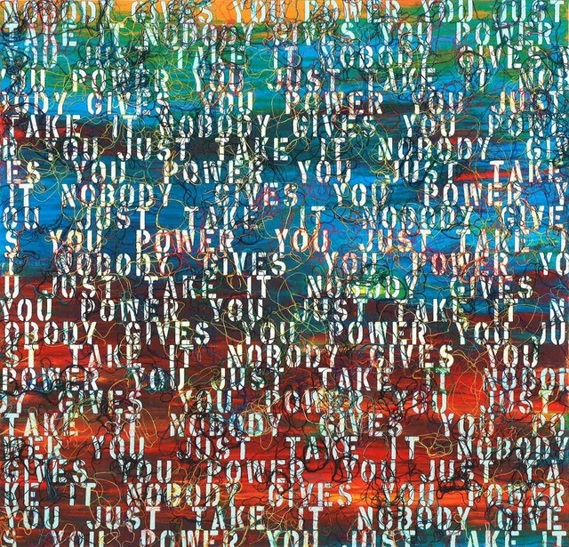 , 'Sunset with Words - RFGA,' 2013, Kukje Gallery