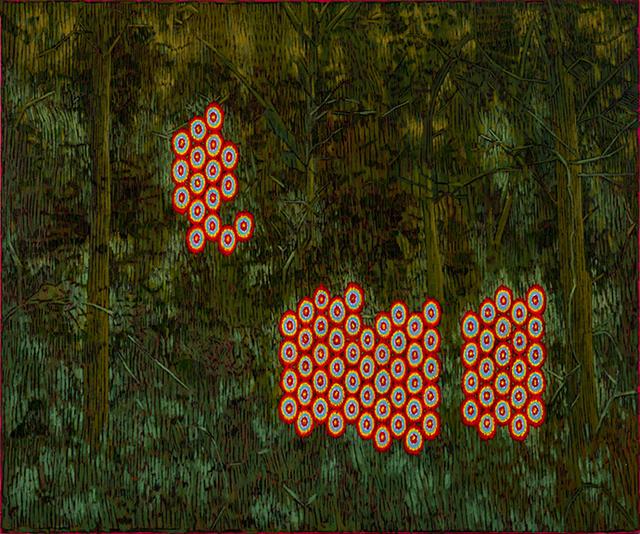 , 'Untitled (For J.E.V./D.O.D./N.J.P.) ,' 2019, David Lusk Gallery