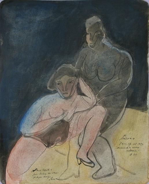 , 'Escenas de la vida bohemia (No.20) ,' 1979, Oscar Roman