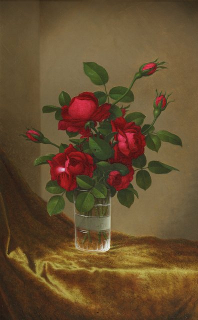 , 'Cluster of Roses in a Glass,' 1885-1895, Debra Force Fine Art