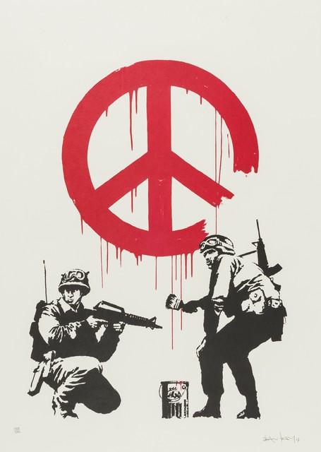 Banksy, 'CND', 2005, Forum Auctions