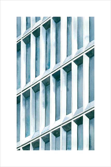 , 'Blue Light, NYC,' 2017, Tempe Digital