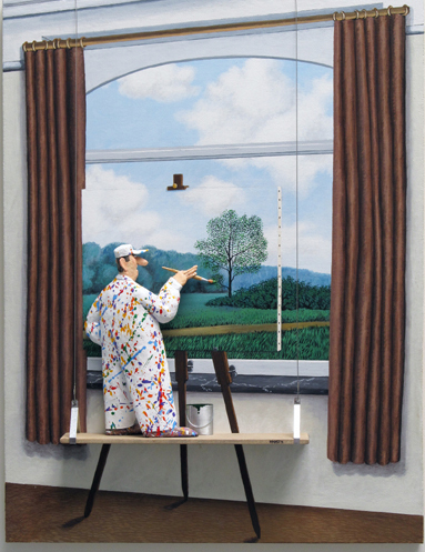 , ' The Human Condition (Magritte) ,' 2015, Zenith Gallery
