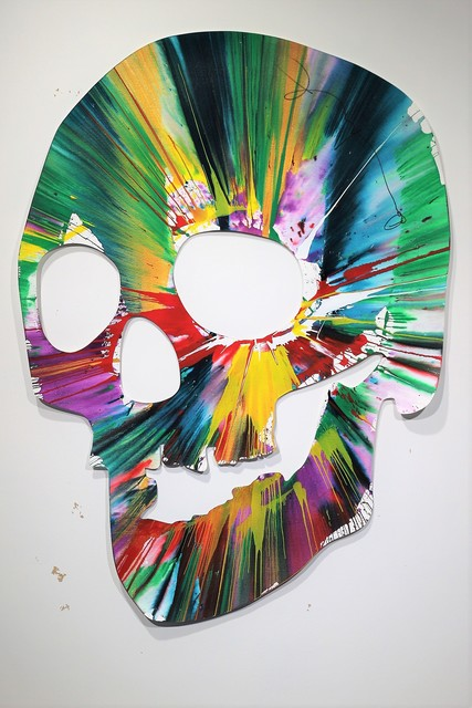 Damien Hirst, 'Skull Spin Painting - SIGNED', 2007, MultiplesInc Projects