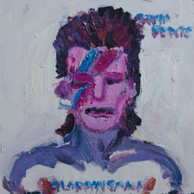 , 'Aladdin Sane,' 2016, yours mine & ours
