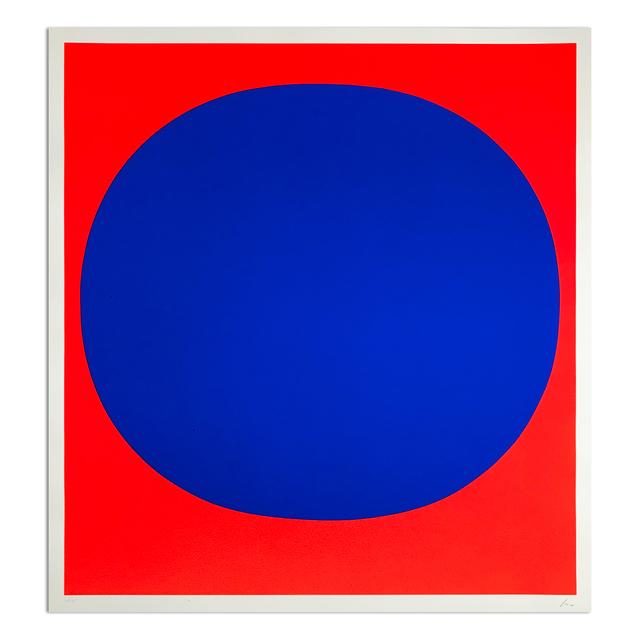 Rupprecht Geiger, 'Blue on Red', 1969, MLTPL