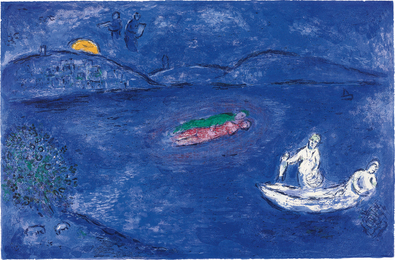 Marc Chagall, 'L'Echo, pl. 33 from Daphnis and Chloé,' 1961, Phillips: Evening and Day Editions