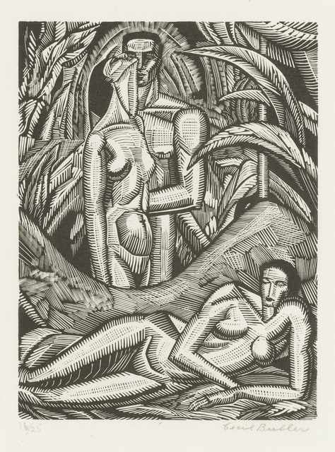 , 'Man and Woman, from Song of Solomon,' 1929, Childs Gallery