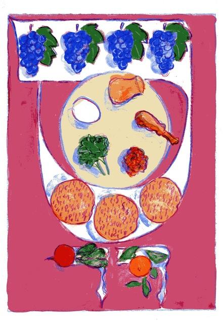 Mark Podwal, 'Seder Plate', 2011, Forum Gallery