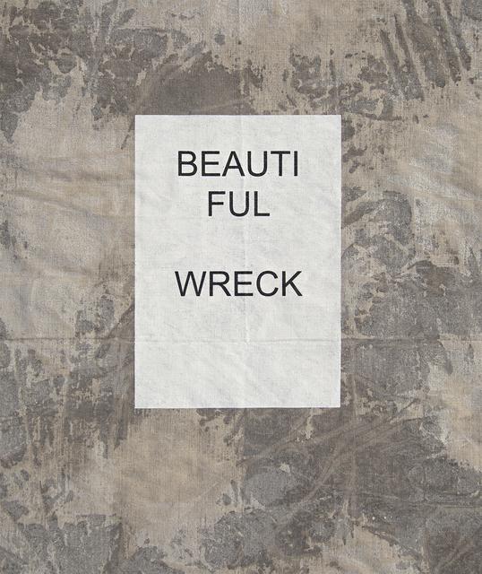 , 'Beautiful Wreck,' 2019, MLF   MARIE-LAURE FLEISCH