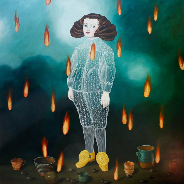 , 'Fire,' 2015, Slete Gallery
