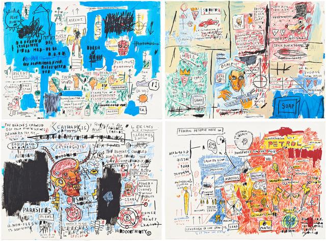 , 'Ascent, Leeches, Liberty, & Olympic ,' , Hamilton-Selway Fine Art