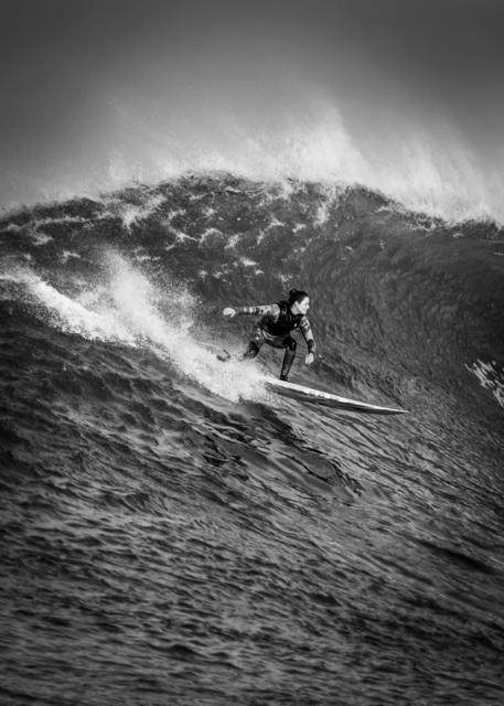 Dina Litovsky, 'Untitled(Bianca Valenti surfing at Maverick's)', 2018, Anastasia Photo