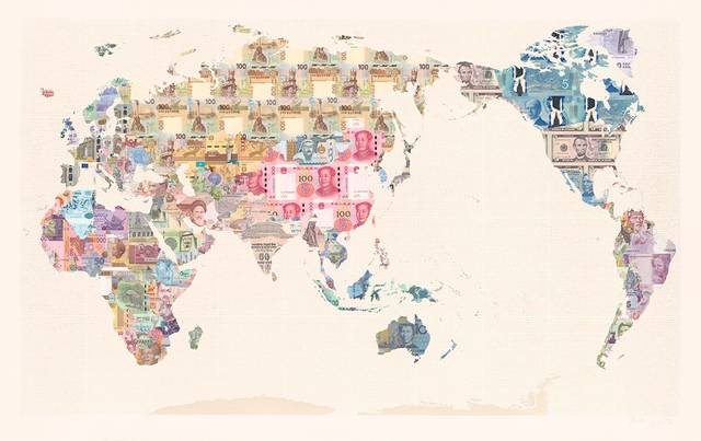 , 'Money Map of the World,' , Gladwell & Patterson