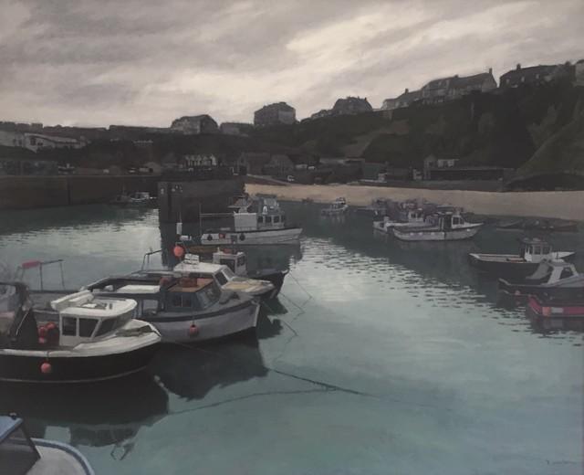 , 'Newquay Harbour II,' 2018, Reuben Colley Fine Art