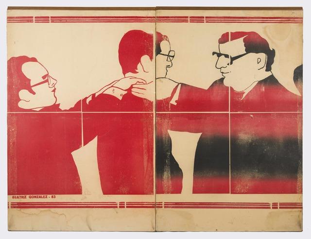 , 'Zócalo de la comedia,' 1983, Casas Riegner
