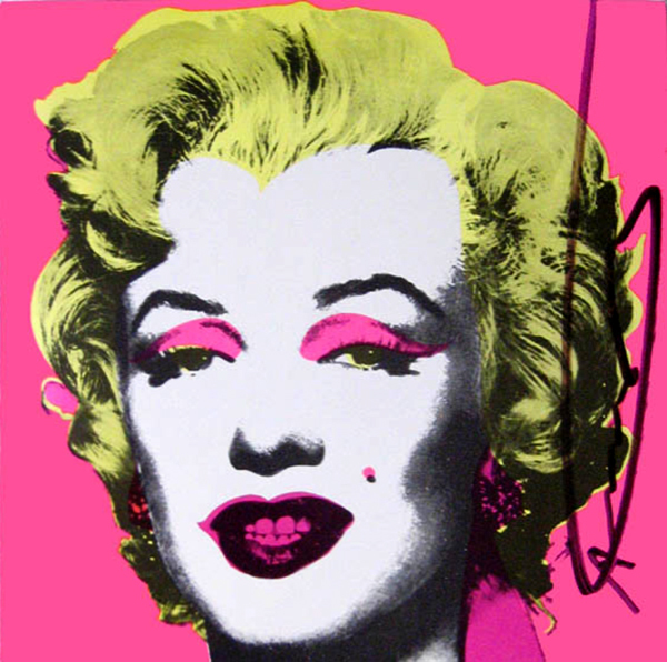 Andy Warhol, 'Marilyn Monroe Castelli Graphics Invitation', 1981, Joseph K. Levene Fine Art, Ltd.