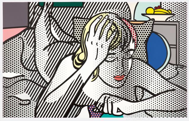 Roy Lichtenstein, 'Thinking Nude, from Nude Series', 1994, Phillips