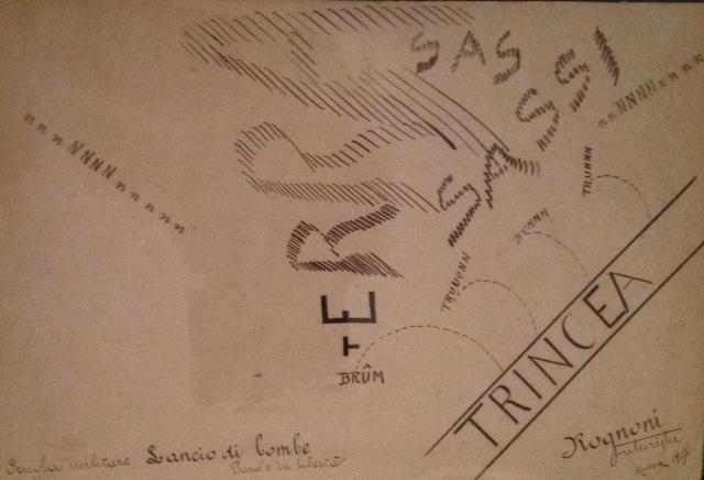 , 'Lancio di Bombe,' 1917, Adler & Conkright Fine Art