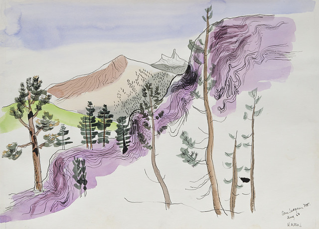 , 'San Joaquin Mountain, August,' 1956, Edward Cella Art and Architecture