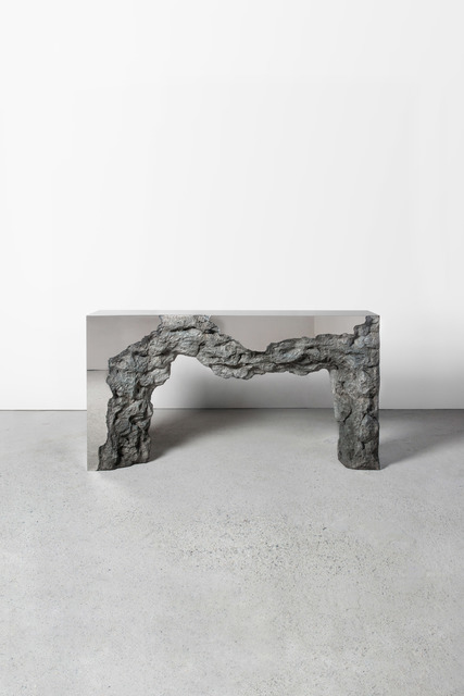 , 'Synthesis Monolith Console No.2 (Stainless Steel),' 2018, Gallery ALL