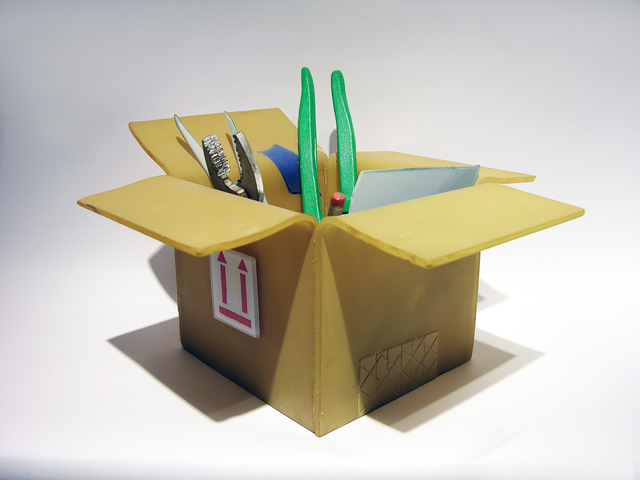 Carmen Spera, 'TOOLS OF THE TRADE: BOX WITH TOOLS', 2017, Heller Gallery