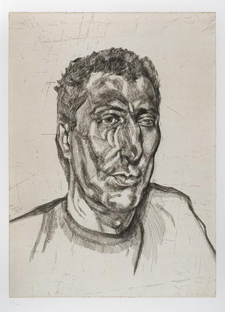 , 'Head of Ali,' 1999, Redfern Gallery Ltd.