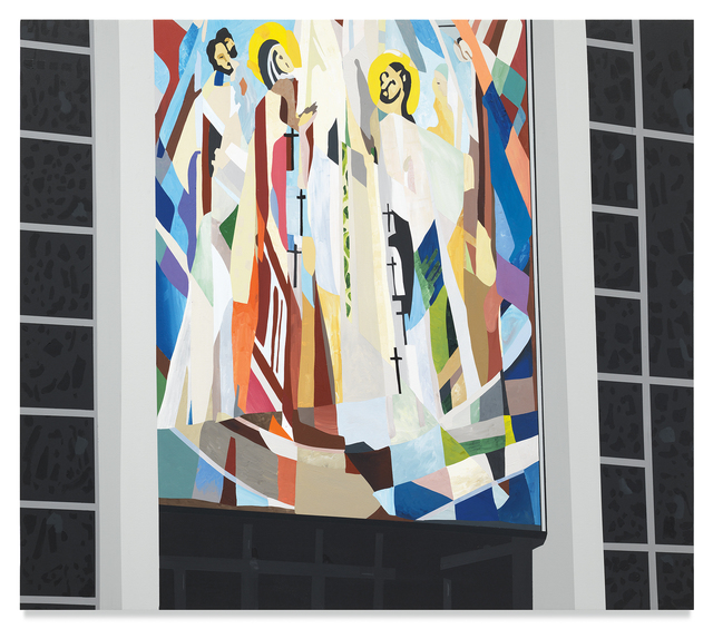 Brian Alfred, 'St. Mary's', 2019, Painting, Acrylic on canvas, Miles McEnery Gallery